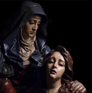 Misterio de María Consuelo de los afligidos de Murcia